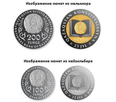 монеты 25 лет конституции