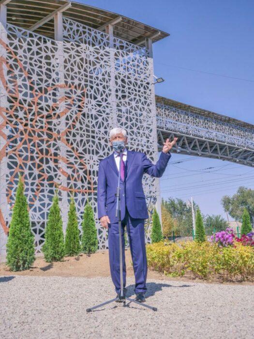 открытие моста шамалган