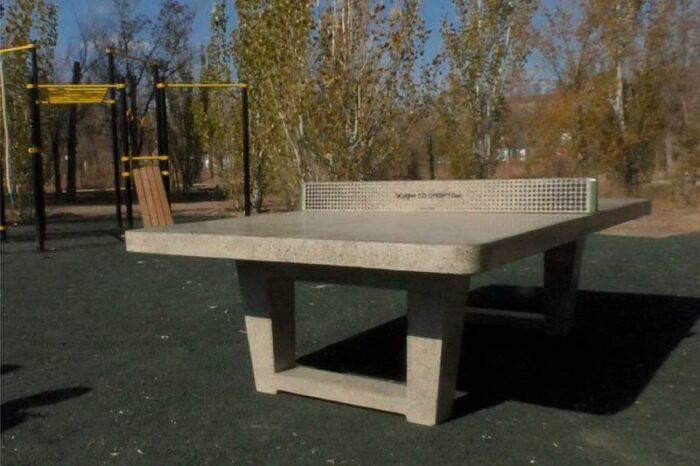 антивандальный теннисный стол балхаш